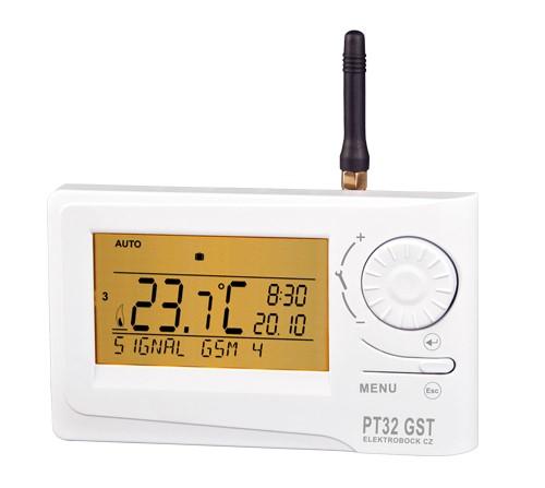 WiFi a GSM termostaty