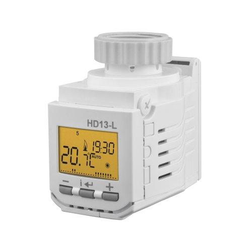 Digitální termostatické hlavice
