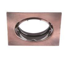 Podhledové bodové svítidlo MOVI221-AN čtvercové, výklopné měděné