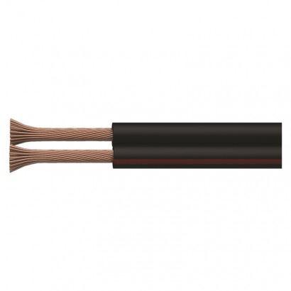 Dvojlinka 2x0,35mm černo/rudá S8230