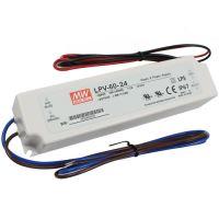 Síťový spínaný zdroj MEAN WELL 100-240V - 24V, 2,5A, 60W vestavný pro LED pásky