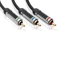 PROFIGOLD Komponentní kabel 3xCINCH konektor PROV3305