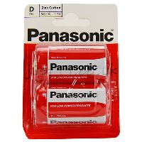 Baterie Panasonic Special power R20, Blistr(2)