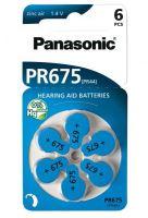 Baterie do naslouchátek Panasonic PR-675HEP