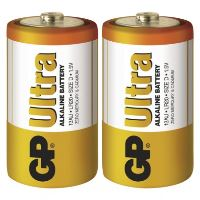 Baterie GP Ultra Alkaline R20 (D, velké mono) bl.