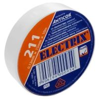 Izolační páska PVC 15/10 ANTICOR bílá