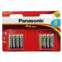 Baterie Panasonic Pro Power alk., AAA/R03 Blistr(8)
