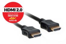 HDMI kabel 2.0,  1,5m, sáček  AQKVH015