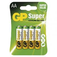 Baterie GP Super Alkaline R06 (AA, tužka) bl