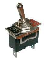 Přepínač páčkový 2pol./2pin 10A/250V ON-OFF   02610016