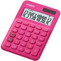 Kalkulačka CASIO MS 20UC-RD, červená, stolní