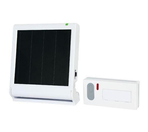 ELEKTROBOCK Solární bezdrátový zvonek BZ914
