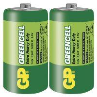 Baterie GP Greencell R14 (C, malé mono)