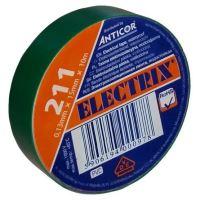 Izolační páska PVC 15/10 ANTICOR zelená