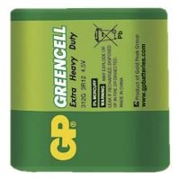Baterie GP Greencell 4,5V (plochá)