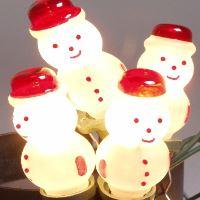 Vánoční žárovky 20V - SNĚHULÁK/FIGURKA LUX