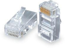 SOLARIX konektor krimpovací RJ45-8p8c, UTP, CAT5E   KRJ45/5SLD-100