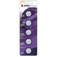 AgfaPhoto knoflíková lithiová baterie CR2032, blistr 5ks