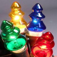Vánoční žárovky 20V - STROMEČEK - BAREVNÉ