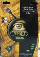 AV kabel PROFIGOLD PGV1110, HDMI -> DVI-D
